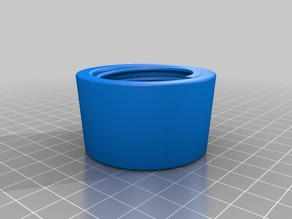 35mm hose coupling for 3D printing and dust
