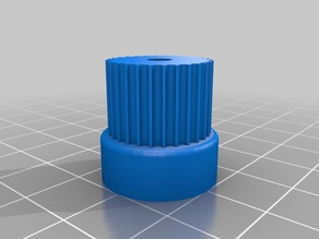 GT2 28 tooth 4mm Shaft for Paste Extruder