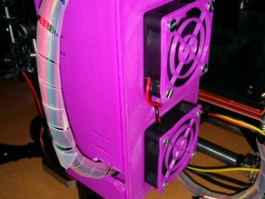 Caja refrigerada de electrónica arduino mega 2560 y Ramps 1.4 para Prusa i3