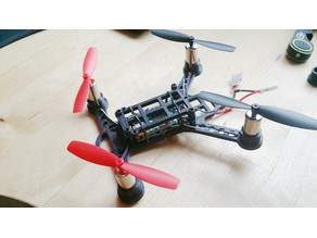 Skitto - FPV Microquad Frame 100mm / 130mm with Ducts and Guards.