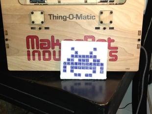 Printable Invader Mosaic