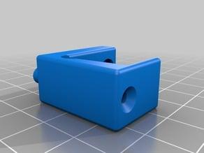 Support capteur filament pour extruder Redrex sur JG Aurora A5