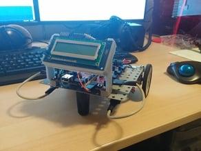 PMOD CLS holder for Digilent Robotics Platform