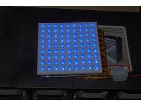 9x9 raster for 5mm LED Matrix
