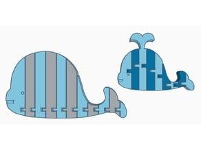 Flexi Whale (Dual Extrusion)