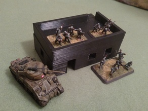 WW2 in 15mm - North Africa House 1