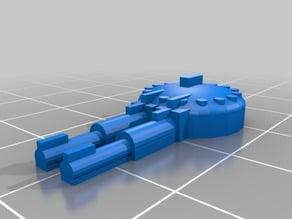 Turret weapons for Gaslands