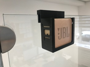 JBL Go 2 shower door mount