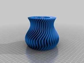 My Customized wavelet vase