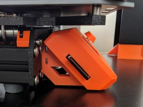Prusa i3 MK3 LCD Supports for reduced footprint in Ikea Lack enclosure