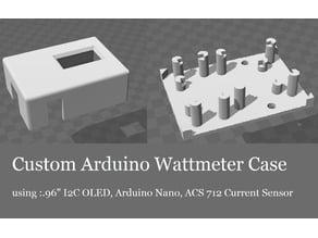 Custom Case for Arduino Wattmeter