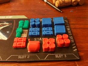 Passenger tokens - Firefly Board game