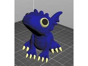Cute dragon for multi / dual material