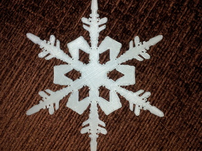 Traced Snowflake