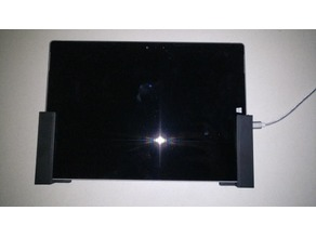 Surface 3 - Wall Bracket for Home Automation