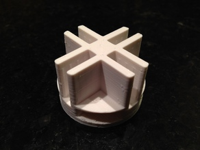 Wire Cube Plastic Connector