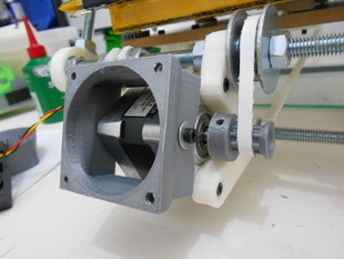 Nema 17 / 37mm long air duct for 50mm fan