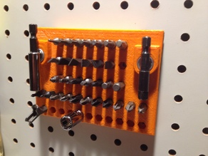 Pegboard Hex Bit holder