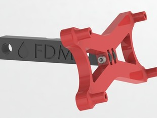 Gadgets3D LCD mount for Prusa i2