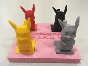 Pikachart: A tool to describe Layer Height and Length of Time for 3D Prints