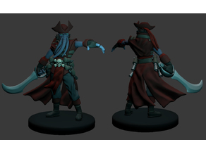 Illithid Pirate Miniature