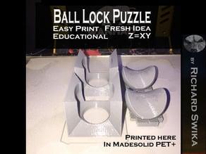 Ball Lock Puzzle