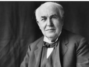 Thomas Edison, Nikola Tesla Lithopanes
