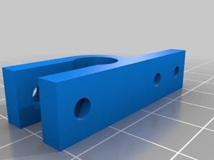 Parametric endstop holder (mendel)