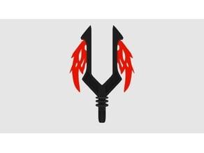 Bionicle Flaming Bident