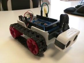 SMARS Arduino Mega and servo as motor