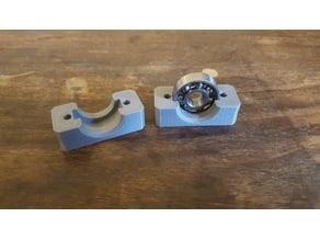 Bearing Block 608Z 22mm x 7mm hole 8mm