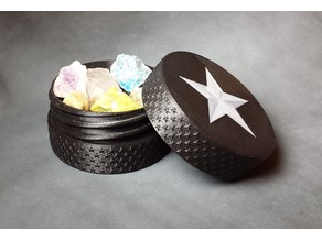 Star Threaded Container