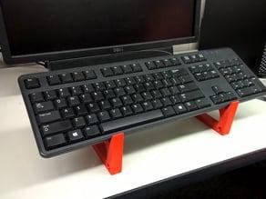 Keyboard and iPad Stand