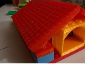 Terracota D-uplo compatible Shingle roof, variable size and shingle tilt
