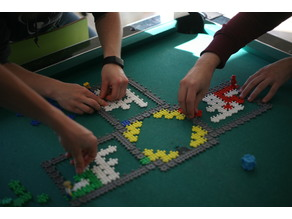 Lego compatible PolyPanels v2! PolyParty!