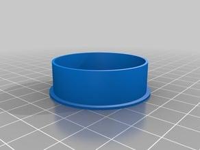 Rear dust cap for Litton 3x afocal night vision lens