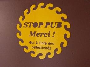 Petit soleil stop-pub