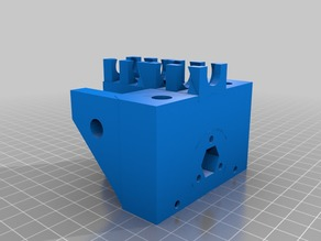 Support z-axis with reverse lanes