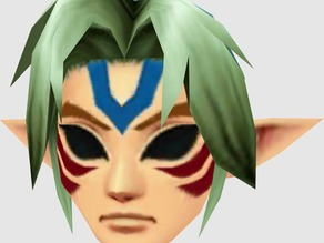 Zelda Link fierce deity mask