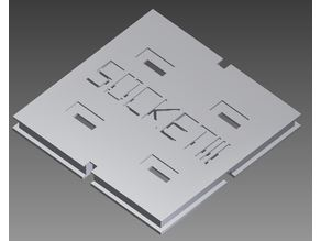 486 DX 2 - Socket 3 - CPU Cover (Holder)