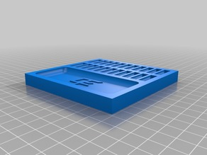 Square Pinning Tray
