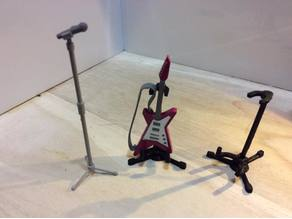 Guitar Stand (1:18 scale)