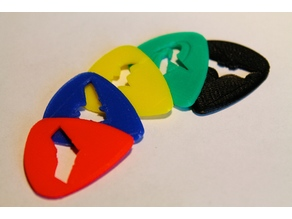 Batman Family Guitar Picks