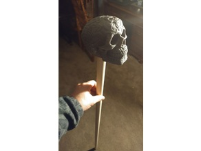 Celtic Skull Staff