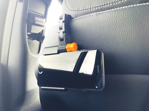Customizable Car Seat Phone Holder