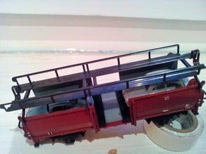 Car holder for Märklin 4612 car transporter