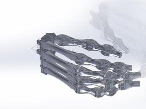 Five fingered robot hand