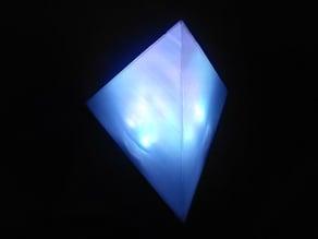 Tetrahedron RGB lamp