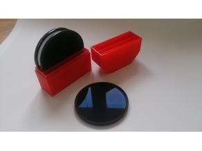 box for  3x photo filter 77mm