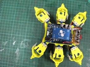 86Hexapod (12-Axis Hexapod Robot)
